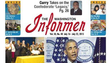 Photo of Washington Informer, July 16, 2015