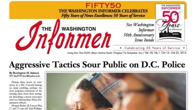 Photo of Washington Informer, October 20, 2014