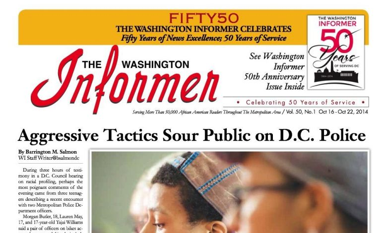Washington Informer, October 20, 2014