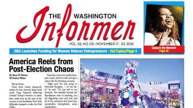Photo of Informer Issue November 17, 2016