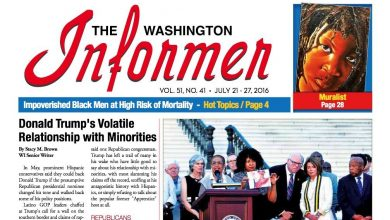 Photo of Washington Informer, July 21, 2016