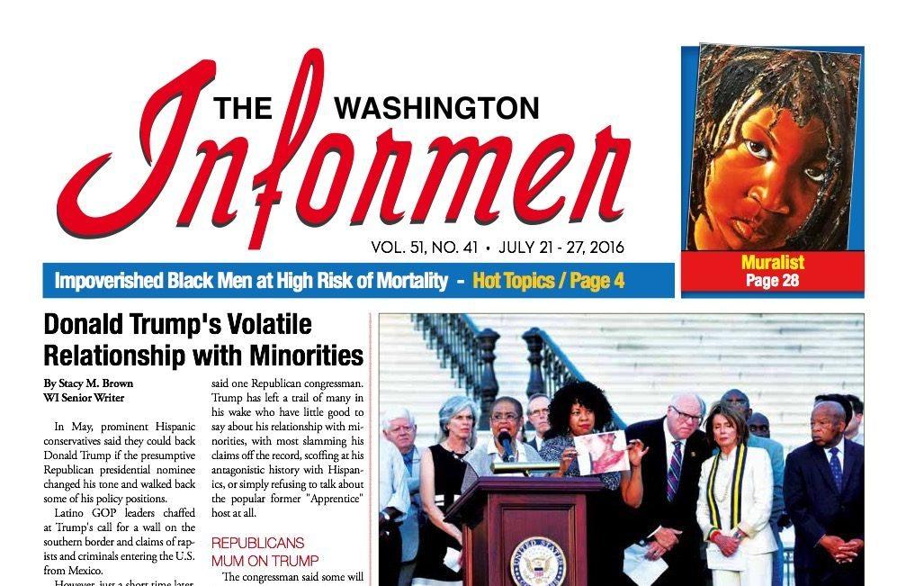 Washington Informer, July 2016