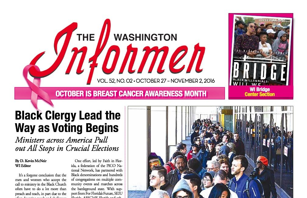 Photo of Informer Issue October 27, 2016