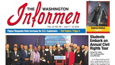 Photo of Washington Informer, July 7, 2016