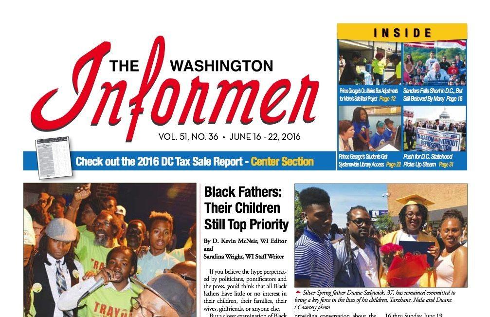 Washington Informer, June 16, 2016