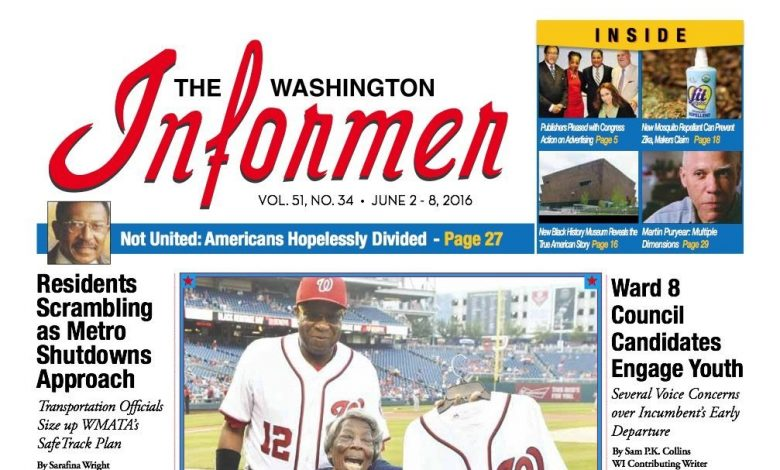 Washington Informer, June 2, 2016