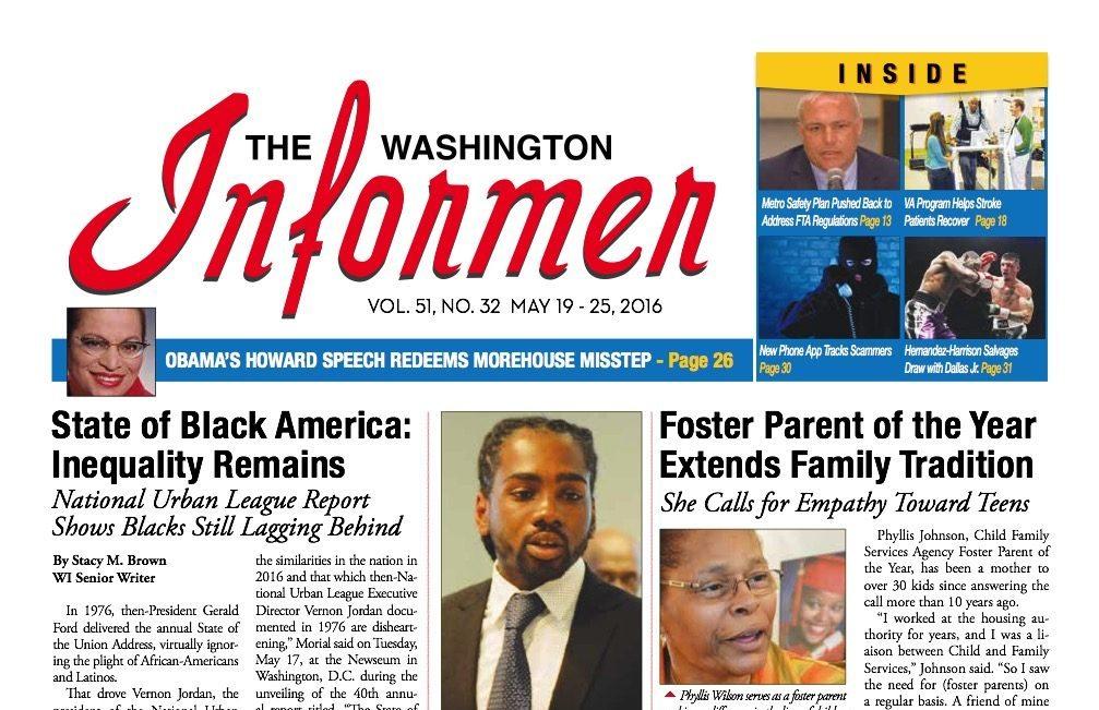 Washington Informer, May 19, 2016