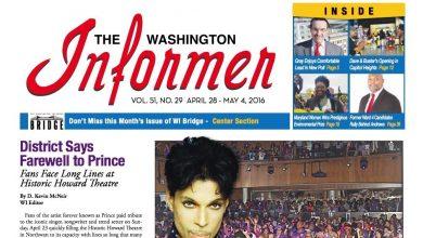 Washington Informer, April 28, 2016