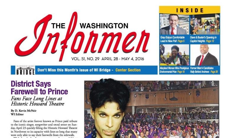 Photo of Informer Issue April 28, 2016