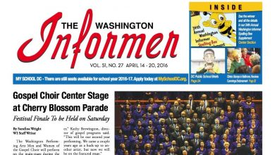 Washington Informer, April 14, 2016