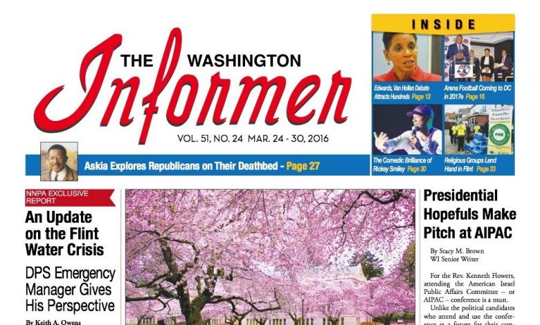 Photo of Informer Issue March 24, 2016