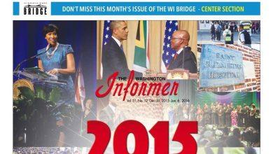 Photo of Washington Informer December 31, 2015