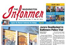Photo of Washington Informer December 17, 2015