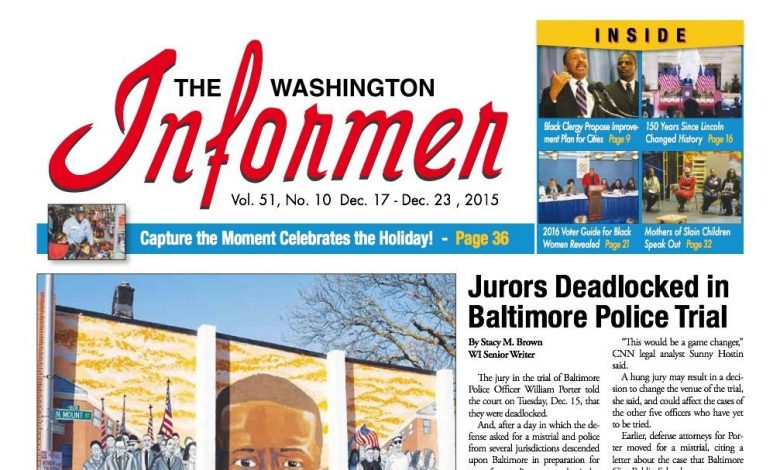Washington Informer, December 17, 2015