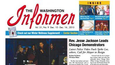 Photo of Washington Informer December 10, 2015