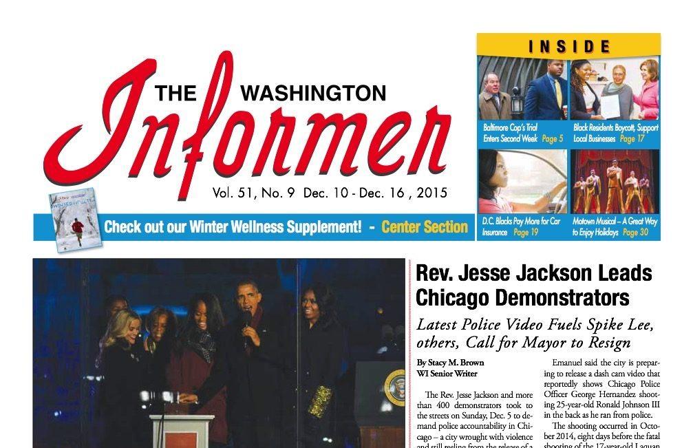 Washington Informer, December 10, 2015