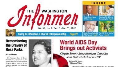 Photo of Washington Informer December 3, 2015