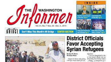 Photo of Washington Informer November 26, 2015