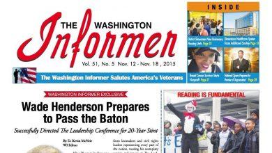 Photo of Washington Informer November 12, 2015