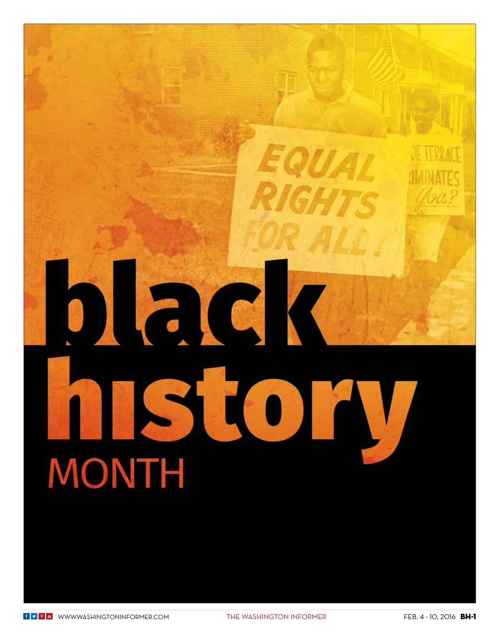 Photo of Washington Informer Black History Month Special Supplement, February 2016