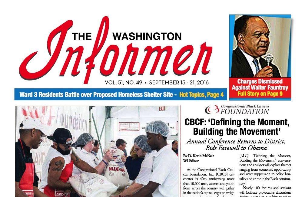 Photo of Informer Issue September 15, 2016