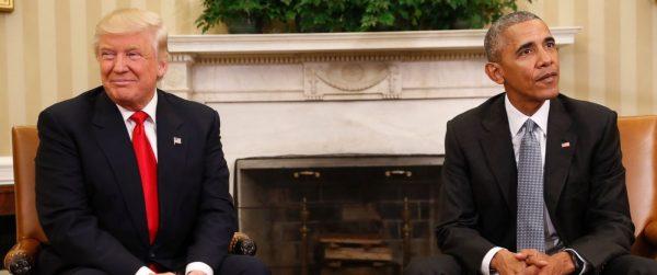 President Elect Donald Trump meets with President Barack Obama /photo ABC News