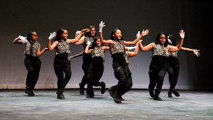 DC Xtreme All Starz perform during the William O. Lockridge Community Foundation's 6th annual Dancing with the Scholars program at THEARC in Southeast on Nov. 12. /Photo by Roy Lewis