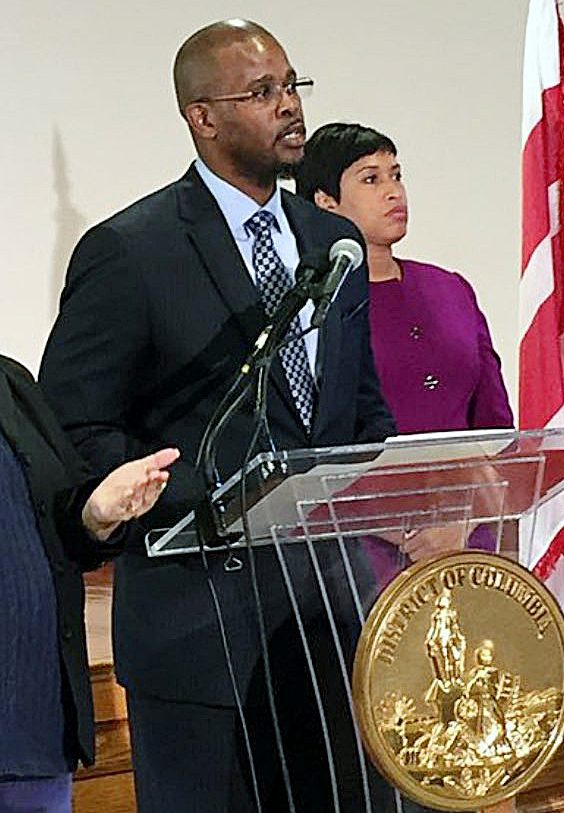 Antwan Wilson is D.C. Mayor Muriel Bowser's choice for schools chancellor. /Courtesy of DCPS via Twitter