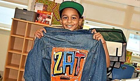 Zakari, 4th-grader at Stanton Elementary School/ Courtesy of DCPS Facebook