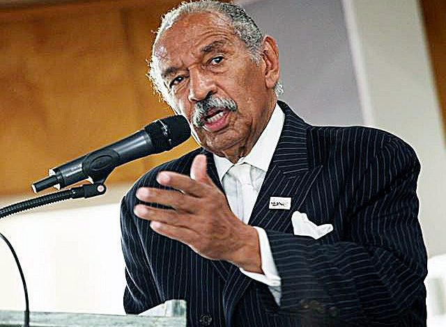 Rep. John Conyers, a civil rights activist and longtime congressman, co-sponsored the Emmett Till Unsolved Civil Rights Crimes Reauthorization Act. (Courtesy photo)