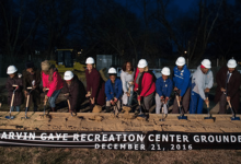 Photo of Groundbreaking Held in D.C. for Marvin Gaye Rec Center