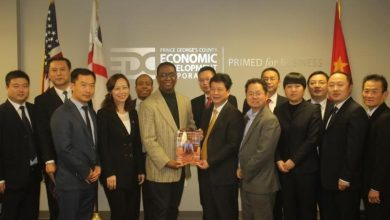 Photo of China Business Delegation Visits Prince George's County