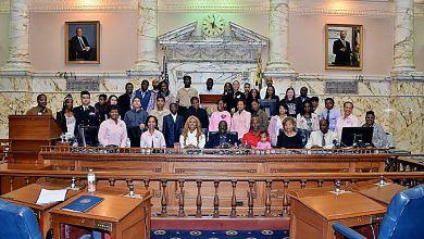 Photo of Delegate Holds Annapolis Day for Youth
