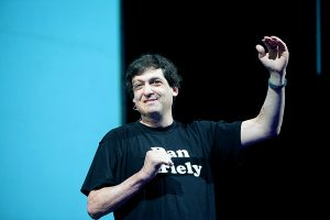 """Payoff..."" author, Dan Ariely /Photo: May R"