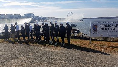 Photo of Officials Break Ground for Pier at National Harbor