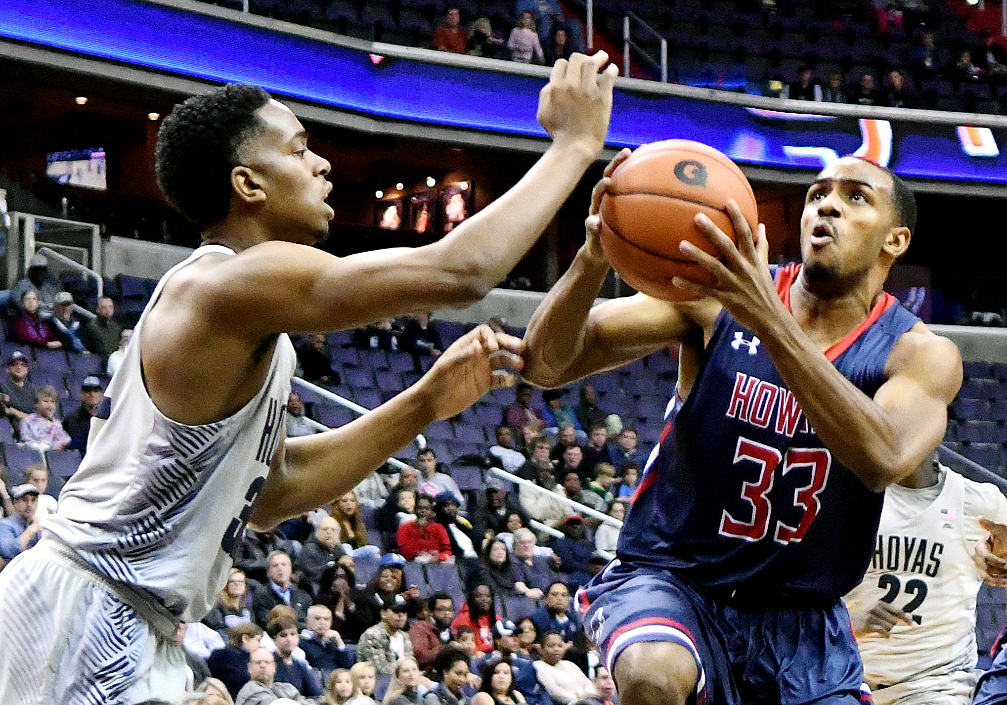 Photo of Georgetown Tops Crosstown Foe Howard