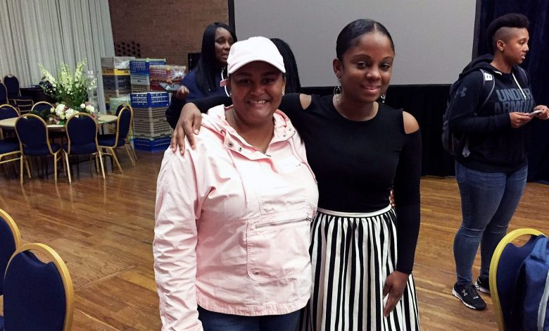 Student-athletes at Howard University picked up tips for success at an ESPN forum that featured prominent female alumni who went from sports to successful careers. Photo by Hamil R. Harris
