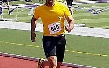 Photo of Maryland Resident Running for Gold, Respect