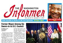 Photo of Washington Informer Issue, January 5, 2017