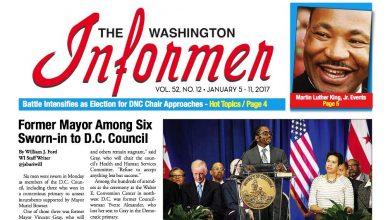 Photo of Washington Informer Issue, January 5, 2017