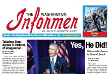 Photo of Washington Informer Issue, January 12, 2017