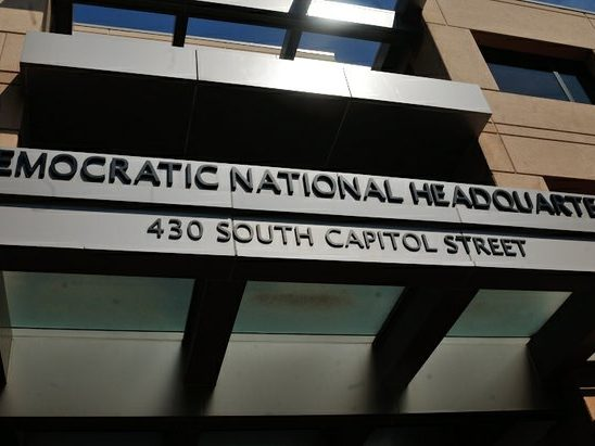 Exterior shot of the Democratic National Headquarters in southeast D.C. /Photo by Patricia Little @5feet2