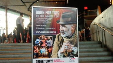 "Photo of BORN FOR THIS: THE BEBE WINANS STORY"" AT ARENA STAGE (PHOTOS BY PATRICIA LITTLE)"
