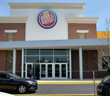 Dave and Buster's restaurant grand opening on Monday, April 25, 2016 in Capitol Heights, MD. /Photo by Patricia Little @5feet2