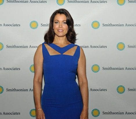 Actress Bellamy Young plays the character of Mellie Fitz on the hit ABC television drama Scandal. /Photo by Patricia Little @5feet2