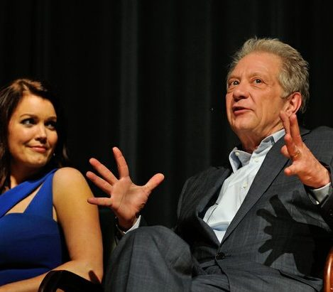 Actor Jeff Perry describes his character Cyrus Beene during a panel discussion sponsored by the Smithsonian Associates on Thursday April 28, 2016 at the UDC Theater Arts auditorium in northwest. /Photo by Patricia Little @5feet2