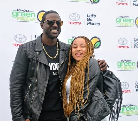 Activist and actor Lance Gross attends the Third Annual Broccoli City Festival on Saturday, April 30, 2016 in Southeast. /Photo by Patricia Little @5feet2