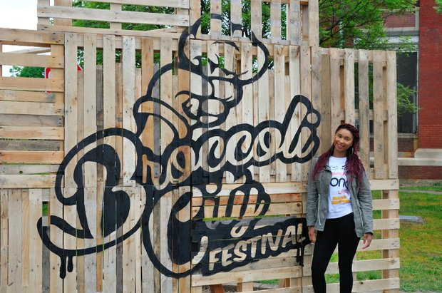 The third annual Broccoli City Festival at the D.C. Gateway Pavilion in Southeast. /Photo by Patricia Little @5feet2