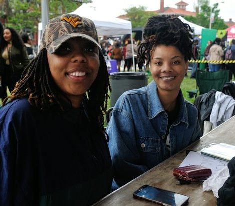 Representatives from the Black Lives Matter Movement of Washington, DC, attend the Third Annual Broccoli Festival on Saturday, April 30, 2016 in Southeast. /Photo by Patricia Little @5feet2