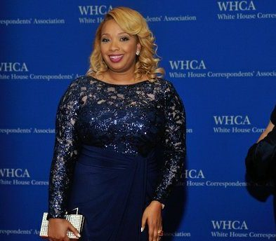 Chef Huda, owner of Pretty and Delicious, attends the 2016 White House Correspondences' Association Dinner at the Washington Hilton Hotel on Saturday, April 30, 2016 in Northwest. /Photo by Patricia Little @5feet2